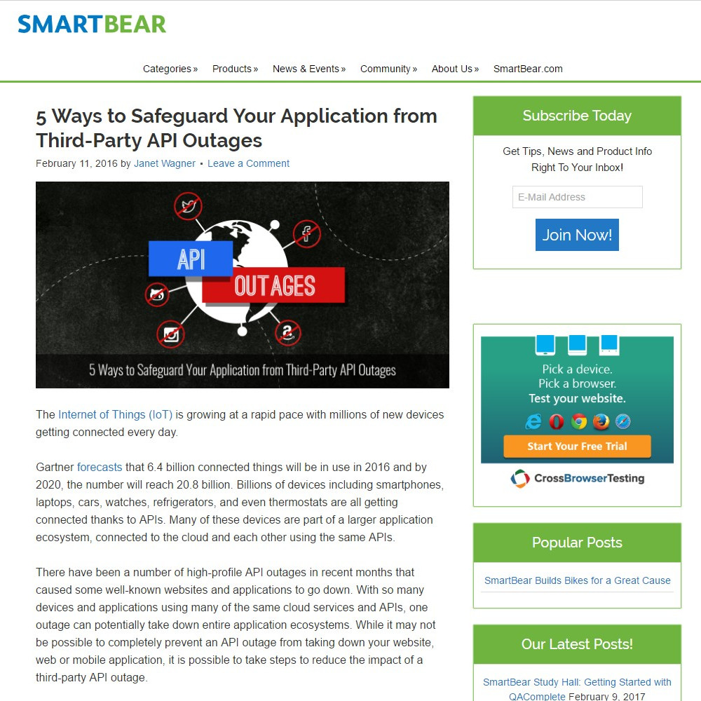 5 Ways to Safeguard Your Application from Third-Party API Outages
